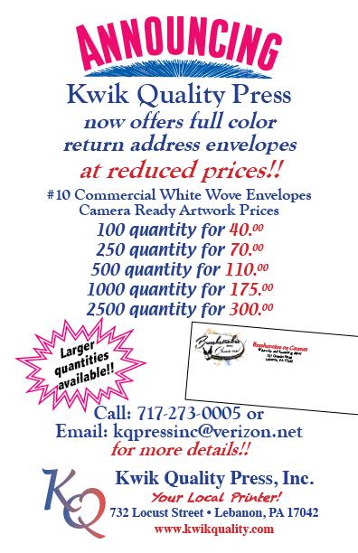 KQP Color Envelope Flyer
