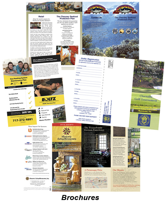 Samples-Brochures
