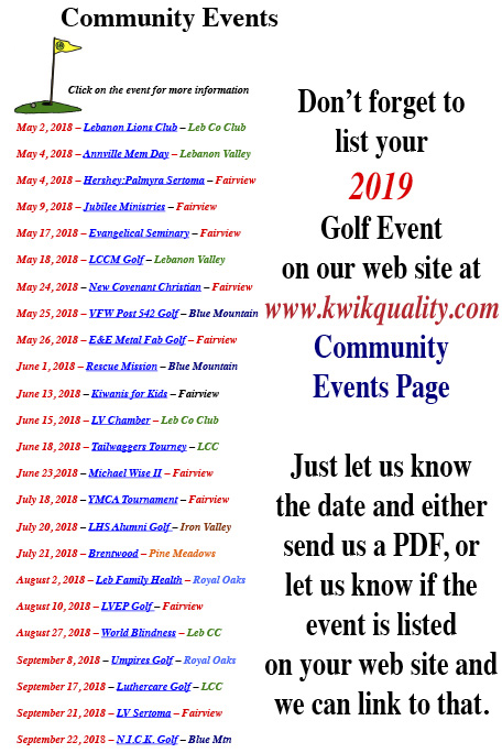 community events web site crop